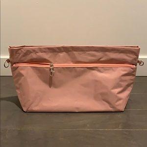 Handbags - Pink Nylon Bag Organizer! Size medium